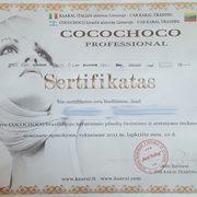 Cocochoco sertifikatas groziolinija.com