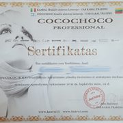 Cocochoco sertifikatas